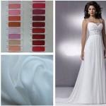 Выбор ткани для вечернего платья
