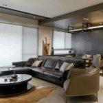 Оформление интерьера: как выбрать кожаный диван для гостиной?